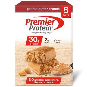 $3.48 Premier Protein 30 g Protein Bar, Peanut Butter Crunch