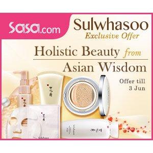 低至4.5折!香港莎莎官网 Sasa.com 精选雪花秀护肤品、化妆品热卖