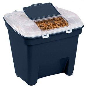 $24.99 (原价$95.96)Bergan 宠物粮食储存盒 可装50磅猫粮狗粮