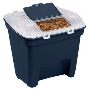 Bergan 宠物粮食储存盒 可装50磅猫粮狗粮