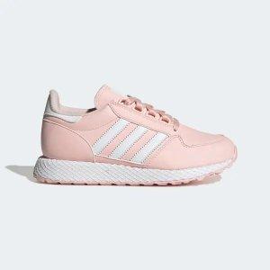 Adidas网底 粉色 运动鞋