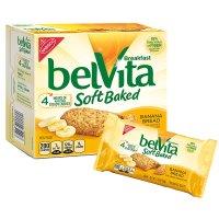 Belvita 香蕉味早餐饼干 8.8oz 6盒装