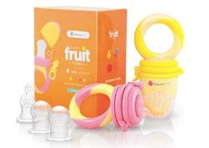 NatureBond Baby Food Feeder/Fruit Feeder Pacifier (2 Pack)