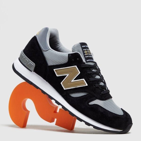 670黑色运动鞋-英国制造