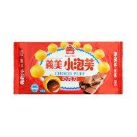 台湾IMEI义美 名产小泡芙 巧克力味 65g