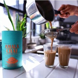 独家8.5折 满£50享8折独家:AMALA CHAI 伦敦高级手工茶叶 分分钟自制正宗阿萨姆奶茶