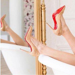 低至7.5折 新款加入Christain Louboutin 最炸眼红底鞋、美包专场