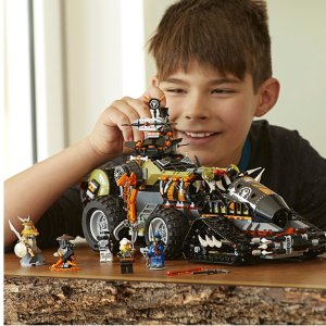 LEGO NINJAGO Masters of Spinjitzu: Dieselnaut 70654 (1179 Pieces)