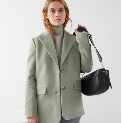 3折起+额外9折 西装外套£76上新:& Other Stories官网 法风西装外套新款加入 巴黎女人衣橱必备单品