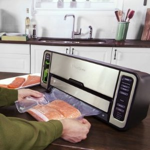 Up to 70% Off + Free ShippingThe FoodSaver® 5800 Series 2-In-1 Automatic Bag-Making Vacuum Sealing System