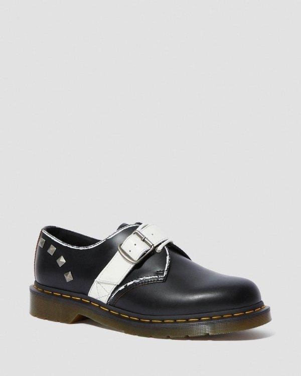 铆钉牛津鞋