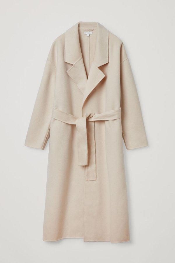 MaxMara同版型羊毛大衣