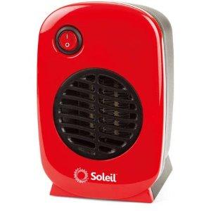 $9.96Soleil 250瓦陶瓷小电暖器 4色可选