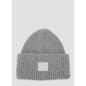 Acne StudiosGet $80 off with $400 purchaseFace Beanie Hat in Grey