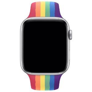 $39.99(原价$59.99)Apple Watch 38mm-44mm 官方 运动橡胶表带