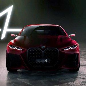 下一代宝马长这样BMW Concept 4 概念车亮相