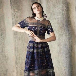 9折收新款 £234收超仙蕾丝连衣裙独家!Self-portrait 超仙小裙裙热卖 称霸朋友圈的战裙