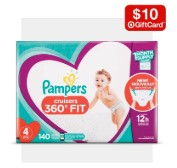 Buy 2 Get $10 GiftSelect baby diapers、daily items Sale @ Target