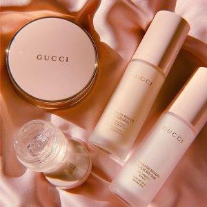 $78起+送自选好礼上新:Gucci 古驰丝润真肌底妆 收粉底液、丝滑精华妆前