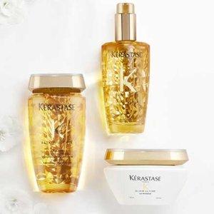 低至42折 21胖入鱼子酱洗发水闪购:Kérastase 洗发护发产品热卖 给你的秀发加倍呵护