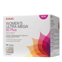 Ultra Mega 女性综合维生素 50岁以上