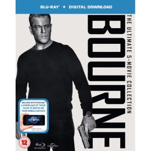 The Bourne Collection (Includes UltraViolet Copy) Region Free Blu-ray