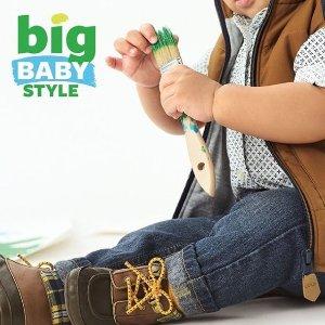 全场5折 $8收牛仔裤Carter's 儿童时尚牛仔裤热卖 松紧腰舒适童款