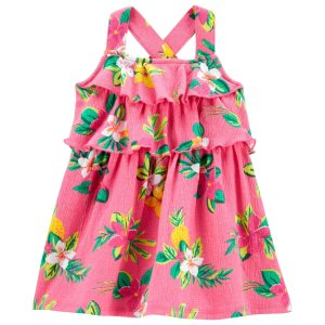 Carter's婴儿花朵连衣裙