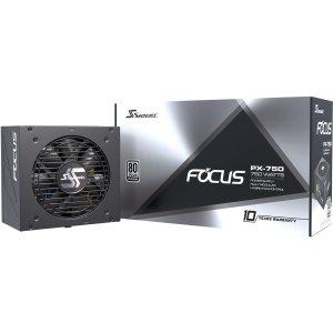 比黑五低:Seasonic Focus PX-750 750W 80+铂金 全模组 电源