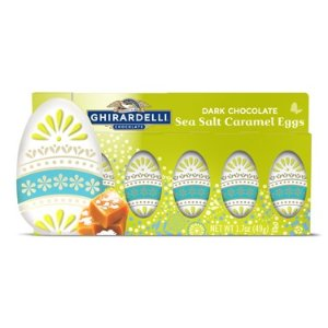 Dark Chocolate Sea Salt Caramel Eggs Gift