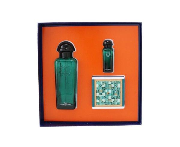 橘绿之泉套装 EDC Spray 100ml/3.3oz + EDC 7.5ml/0.25oz + Perfumed Soap 50g/1.7oz 3pcs
