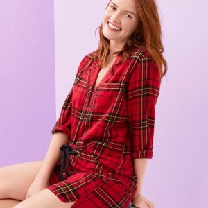 Starting From $14.99 + Extra 15% Off $100Today Only: LOFT Outlet Sleepwear on Sale