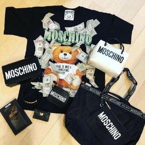 7折起+额外8.8折 收封面短袖最后一天:Moschino 可爱泰迪熊 $185收冰川蓝卫衣 $136收短袖