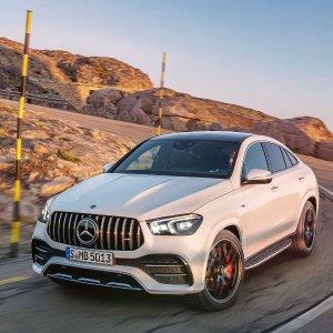奔驰轿跑SUV 带你来到20212021 Mercedes-Benz GLE Coupe / GLE 53 AMG 轿跑SUV发布