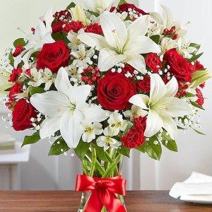 全场额外9折独家:1800flowers 官网全场鲜花热卖 鲜花表心意 送美丽祝福
