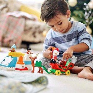 $19.99(原价$29.99)+包邮史低价:LEGO Duplo 系列 圣诞老人的寒假 10837
