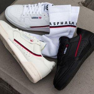 $80+包邮adidas Continental 80 复古运动鞋 不仅仅是小白鞋