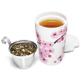 $11.9 (原价$20)闪购:Tea Forté 带茶滤樱花杯