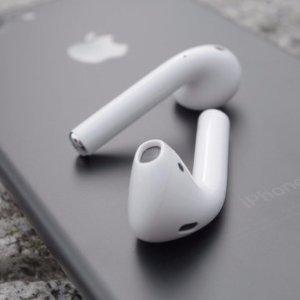 $189苹果Airpods 无线蓝牙耳机 带标准苹果保修