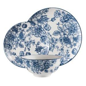 青花瓷餐具12件套
