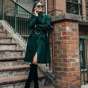 全场低至5折 伦敦时尚女郎黒五价:Ted Baker 现有精选大衣热卖