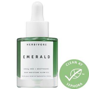 Emerald CBD + Adaptogens Deep Moisture Glow Oil - Herbivore | Sephora