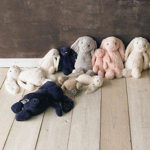 害羞邦尼兔$32.5Jellycat 毛绒玩偶热卖 大家都爱的治愈系安抚玩具