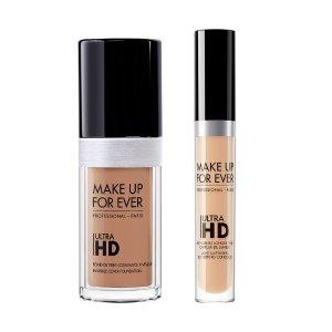 25% offOn Ultra HD Foundation & Concealer Bundle @ Make Up For Ever