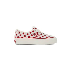 VansRed & White Authentic 运动鞋