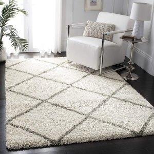 低至6.5折装饰地毯大促