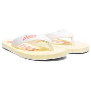 AsicsUnisex FLIP FLOP | White/Guava | Sandals & Slides | ASICS