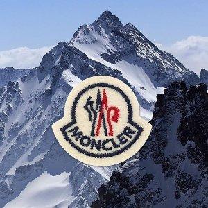 Logo围巾仅¥2800+直邮中国Moncler 羽皇热卖 冬季必备超轻便羽绒外套