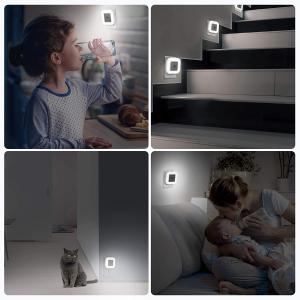 $14.99(原价$24.99)JACKYLED 智能感应LED夜灯六个 舒适暖白色 需要光的地方有它