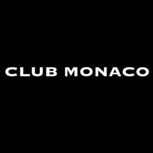 3折起+额外7折  正价区享7折Club Monaco 精选男女服饰 收明星同款好时机